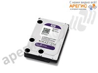 HDD 3,5'' Western Digital WD10PURX, 1000ГБ, SATAIII
